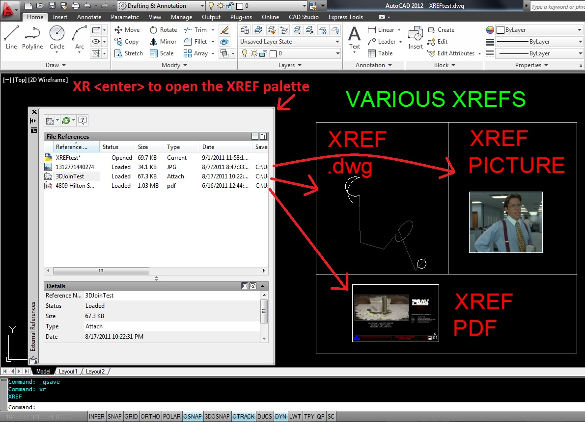 301 moved permanently for Fenetre xref autocad