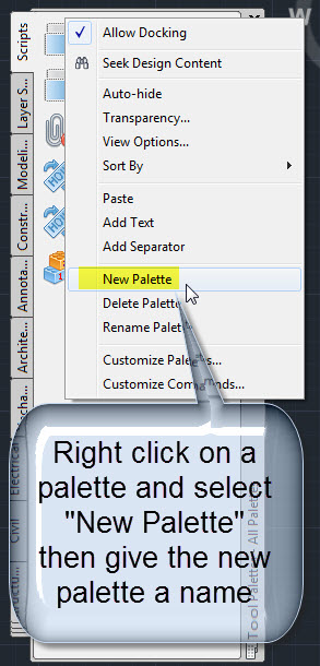 Adding Lisp Files to a Tool Palette | AutoCAD Tips