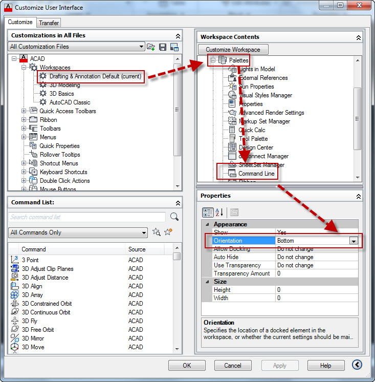 Lost Command Line | AutoCAD Tips