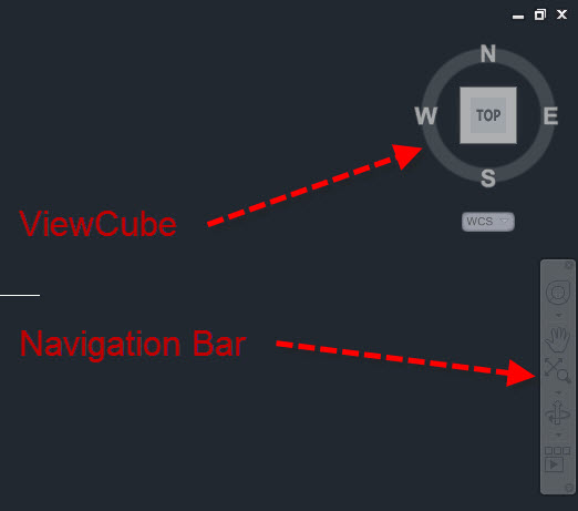 Control The Display Of The View Cube And Navigation Bar