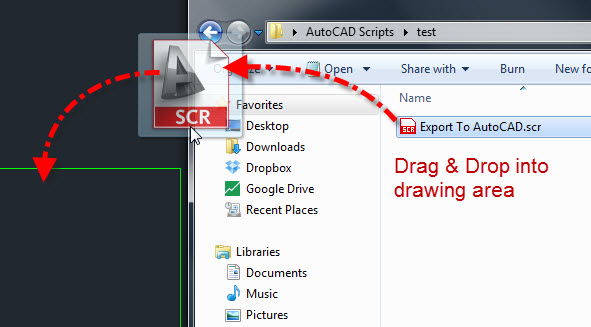 Export To AutoCAD Script | AutoCAD Tips