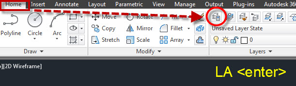 AutoCAD 2014 Merge Layers from the Layer Properties Manager