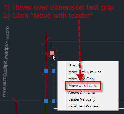 how to use leader line in autocad
