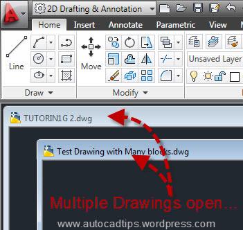 Multiple Drawings Open 1