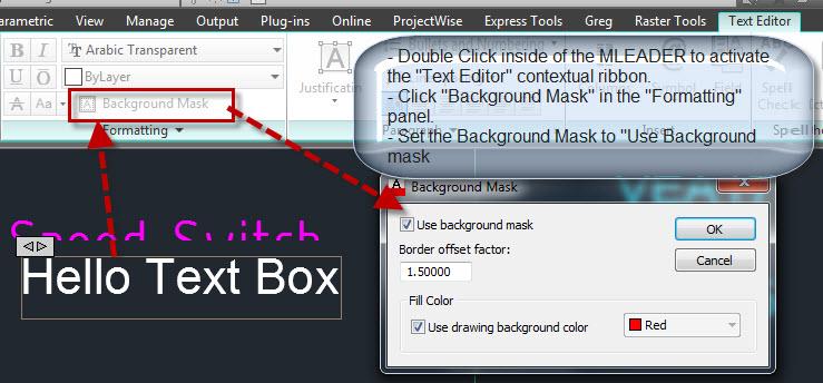 AutoCAD Self Adjusting Text Frame Using Multileaders
