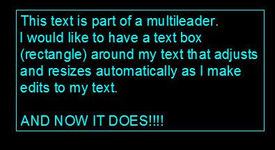 MLEADER TEXT BOX 7