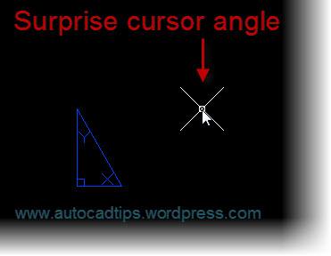 odd cursor angle