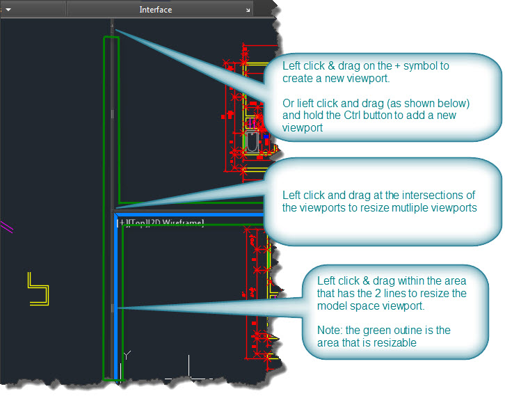 how to add viewport in autocad