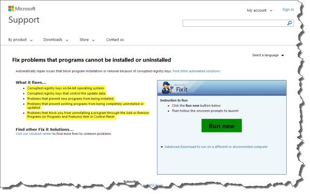 Microsoft Repair 1
