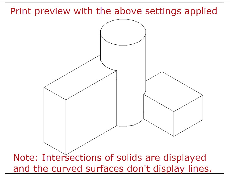 Helpful Settings for Plotting 3D Solids in AutoCAD | AutoCAD