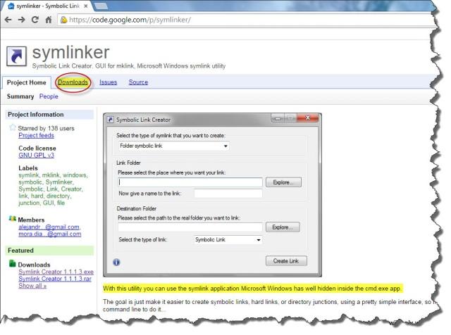SymLink Creator Link