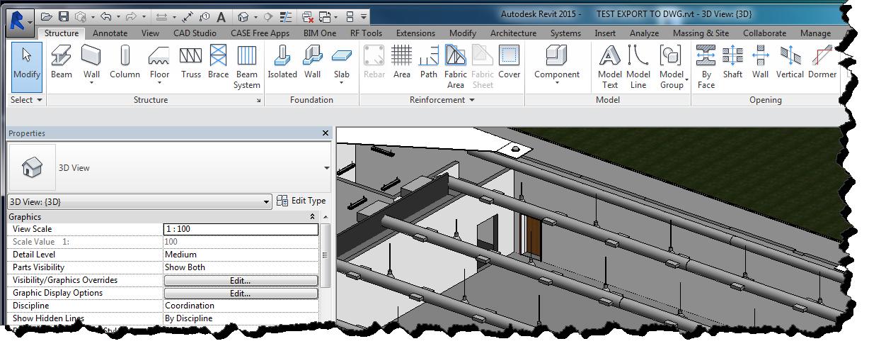 Convert 3D Revit to DWG | AutoCAD Tips