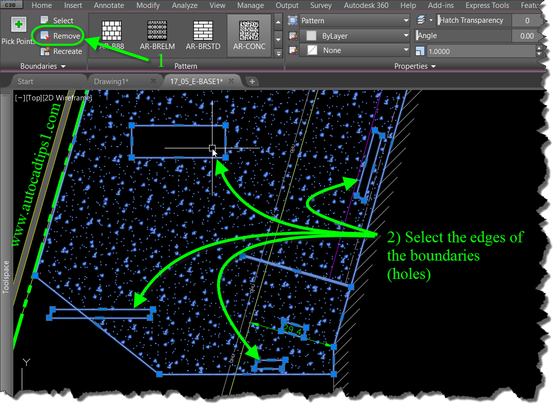 Fix Your AutoCAD Hatch Holes | AutoCAD Tips